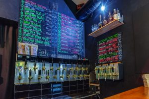 Craft Beer Prague Tap List